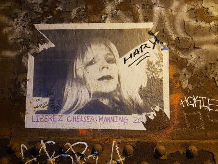 Image of Chelsea Manning Poster