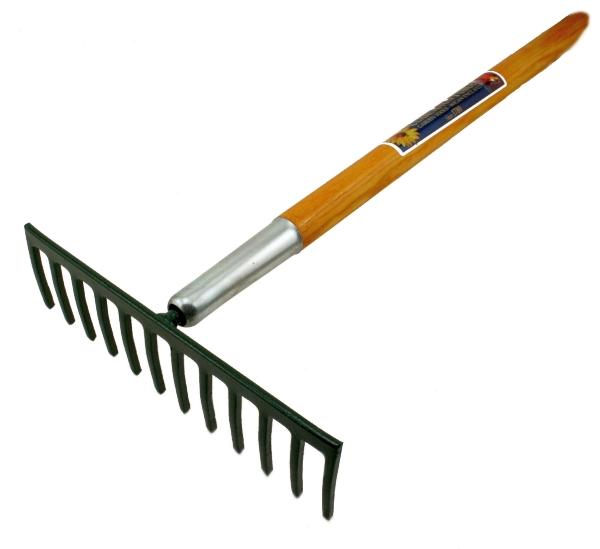 Uses Rake Gardening