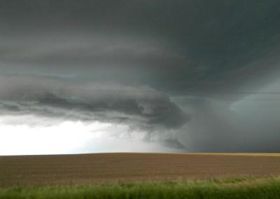 Severe Thunderstorm over western Nebraska panhandle