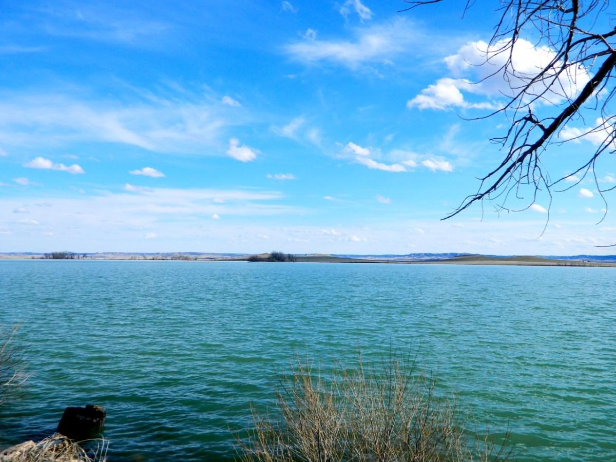 Spring thaw on Whitney Lake