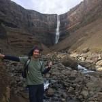 Der Wasserfall gehört uns ganz allein