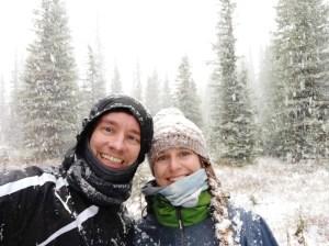 Wintereinbruch in Kanada