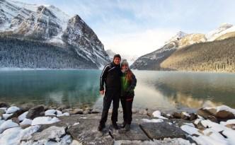unberührte Natur am Lake Louise