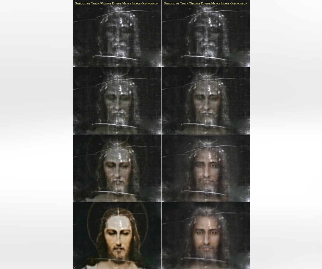 The Shroud of Turin Comparison