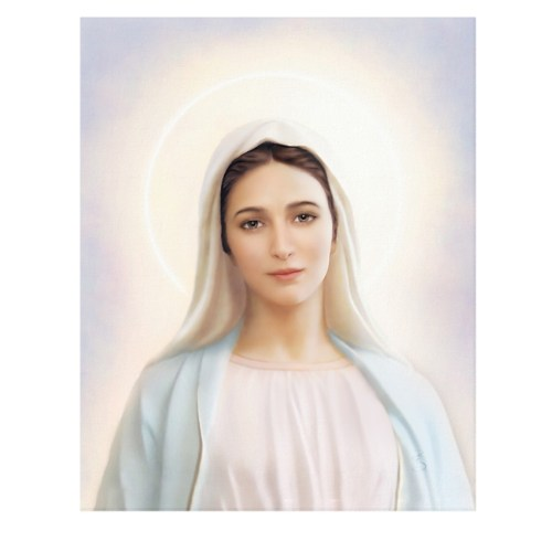 Our Lady of Tihaljina Gallery Wrapped Canvas Art Print