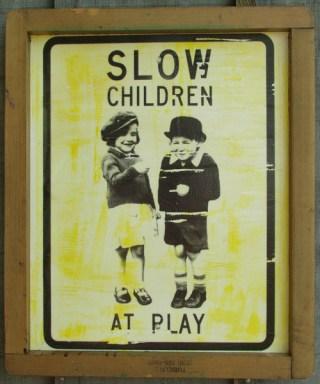"""""""Slow Children"""" by Artist R.L.Gibson"""
