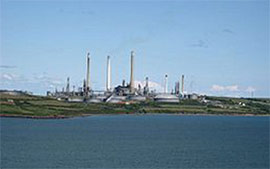 Valero Oil Refinery, Wales UK