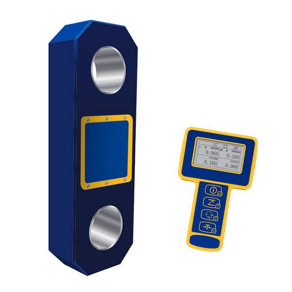 Peson numérique à transmission radio avec mini afficheur  55 T
