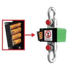 Tiroir à piles pour peson DMC