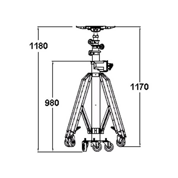 Elévateur électrique portatif – 140 kg à 3 m / 90 kg à 4,9 m