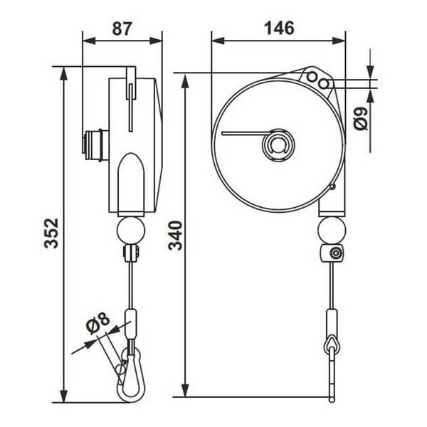 Equilibreur de charge ATEX                • 2 à 4 kg