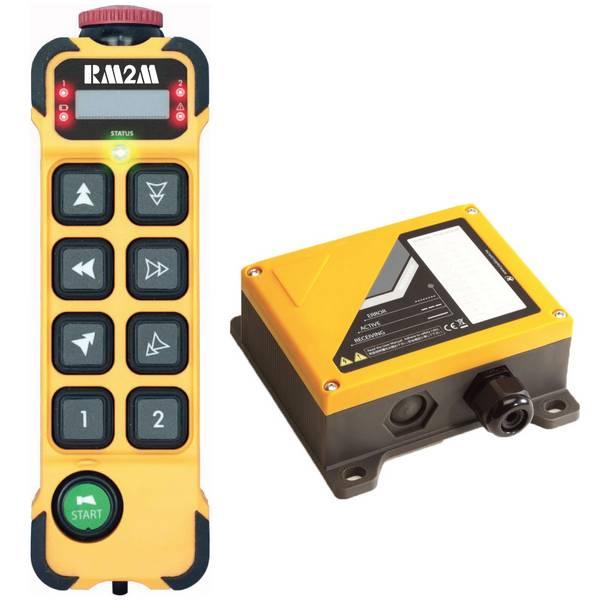 Radiocommande     K808 • 8 boutons (2 crans)
