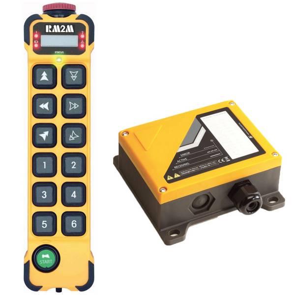 Radiocommande K1206 • 6 boutons (2 crans) et 6 boutons (1 cran)
