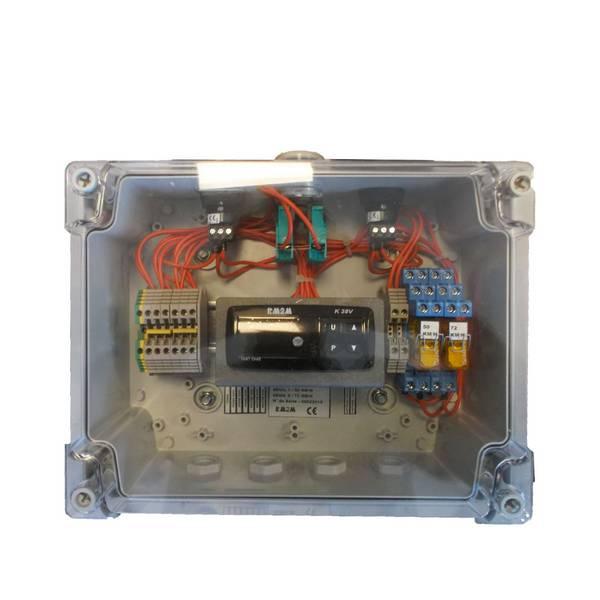 Anémomètre avec afficheur • 230 VAC • câble 20 m