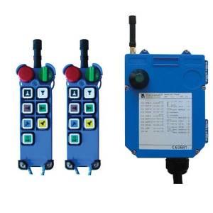 Radiocommande F25- 6D     avec 1 émetteur de secours • (6 boutons 2 crans)