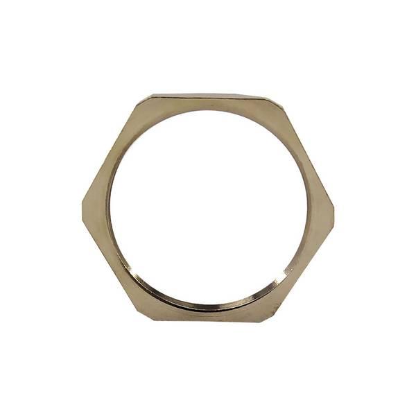 Ecrou pour presse-étoupe en laiton nickelé • PG11