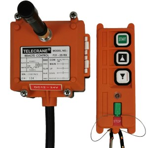 Radiocommande F21-2S(S) • (2 boutons 1 cran)