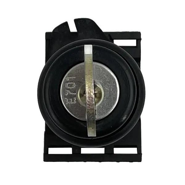 Sélecteur à clef 2 positions fixes, (manœuvre à droite à 90°) • Ø22 mm