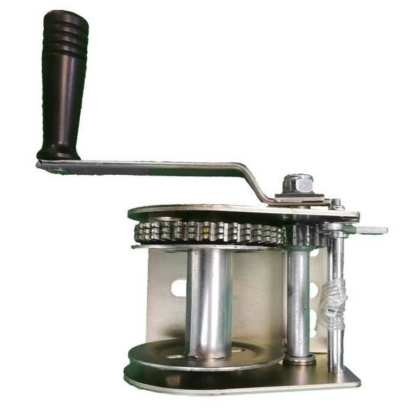 Treuil manuel de halage 596 kg sans câble