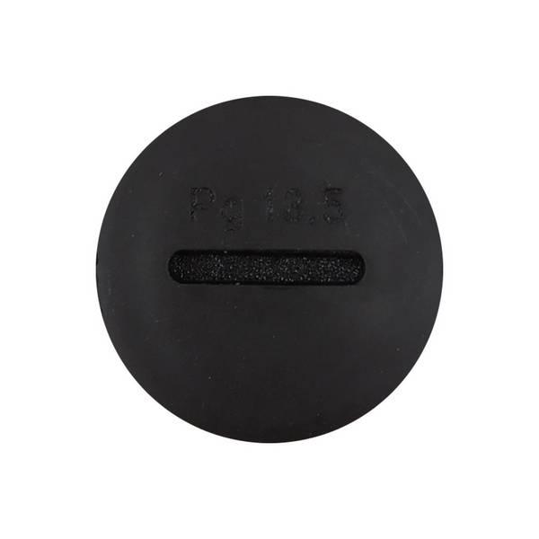 Bouchon pour presse-étoupe • Noir • PG13,5