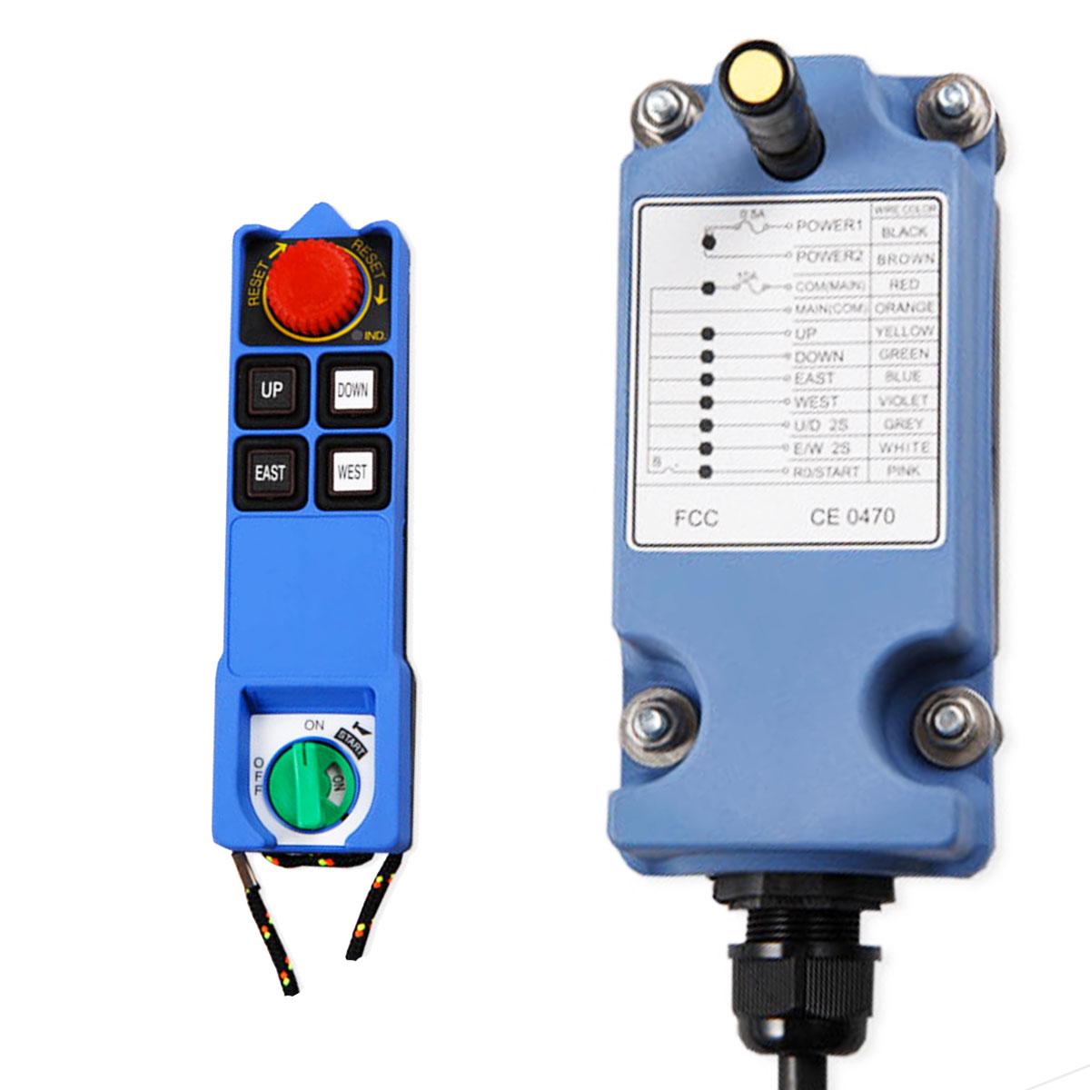 Radiocommande et récepteur Falard L6Bet L8B