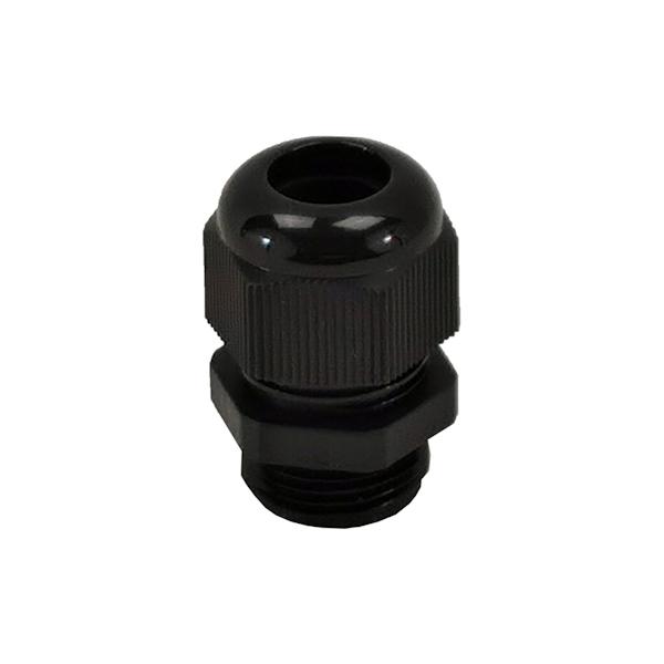 Presse étoupe en polyamide 6 noir • M32 • Pour câble Ø 16 à 21mm