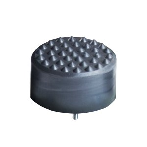 Tampon    amortisseur en polyuréthane élastomère M24 x 80 • Ø250 x 125 mm