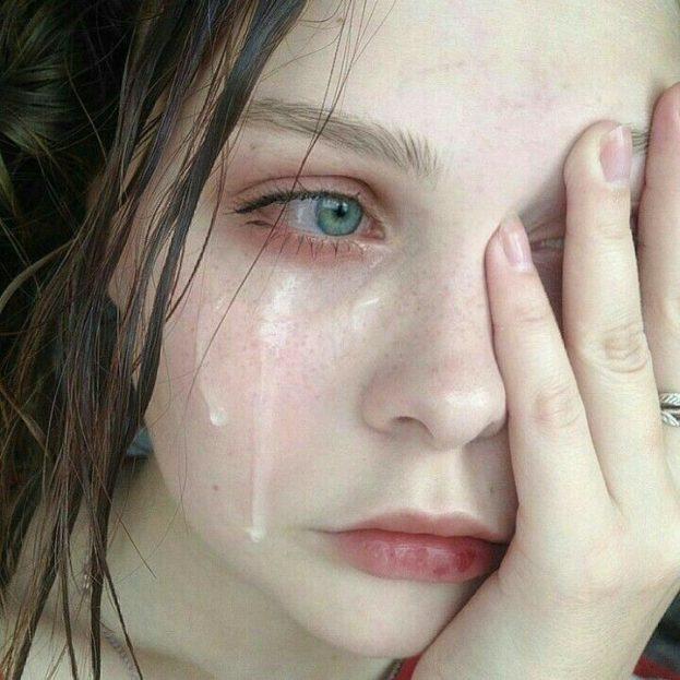 رمزيات بنات حزينه دموع
