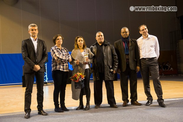 Lailla Akounad Laurier d'Or ( Rachid Saadi, Lailla Akounad, Mohamed Amziane, Gilbert Haustan, Cyrille Plomb)