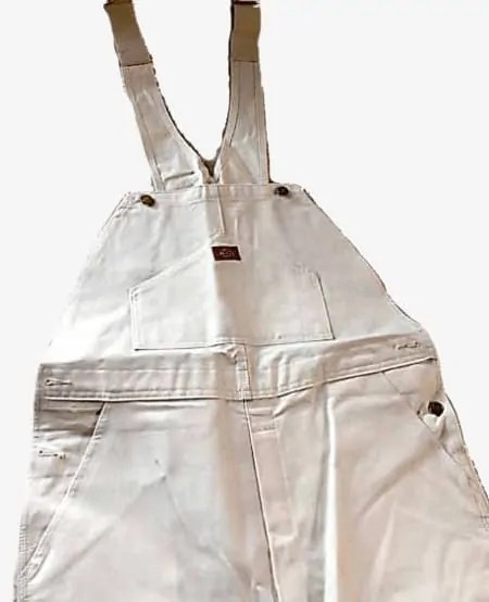 Dickies Painter Bib overalls White