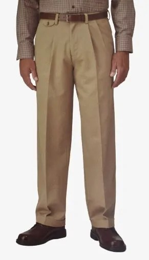 Dockers D4 Relaxed Fit Pleated and Cuffed Front