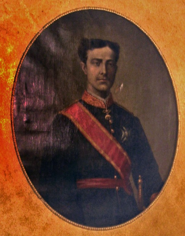 Hermano Mayor Año 1875 S.M. El Rey Don Alfonso XII.