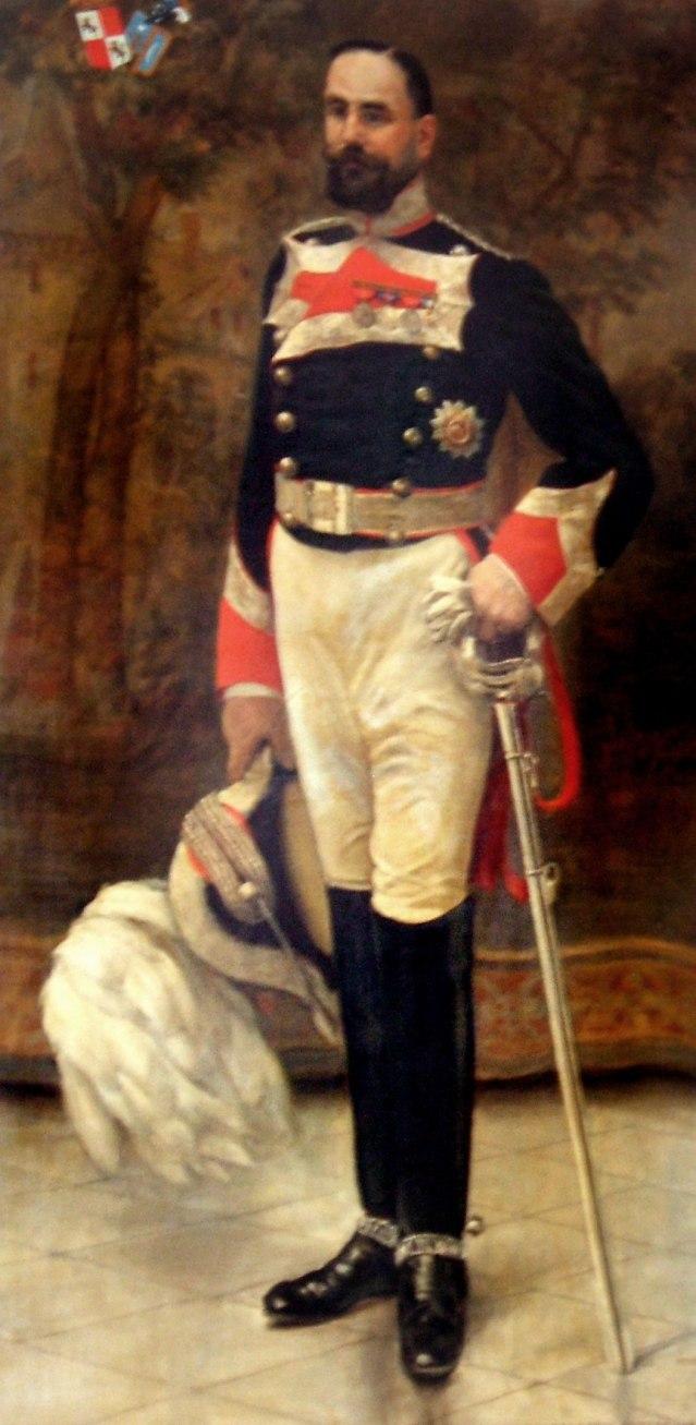 D. Diego Enriquez de Navarra y Roca de Togores, Galiano y Salcedo,  año 1909.