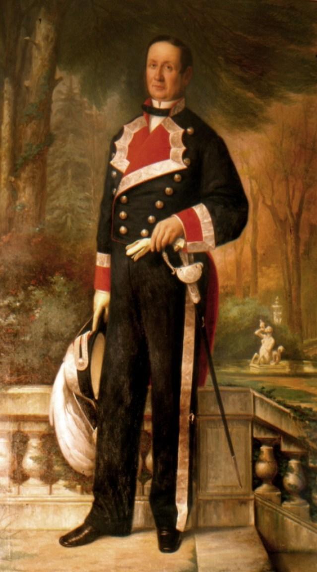 D. Joaquín Del Portillo y Chacón, Molina y Nuñez de Haro, año 1865.