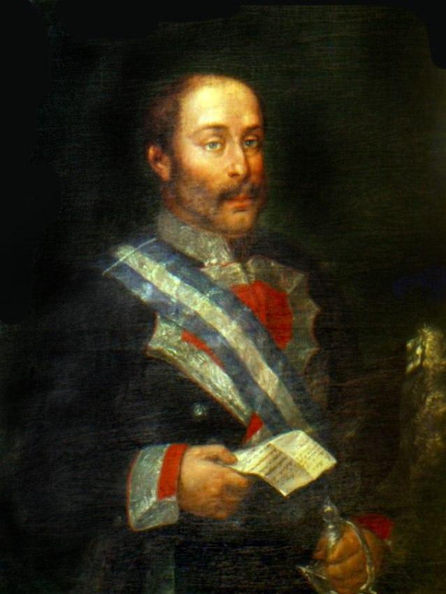 D. Pedro Caro y Salas, Sureda y Boxadors. Marqués de la Romana, año 1815.