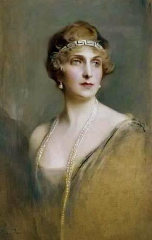 S.A.R. Victoria Eugenia de Battenberg. Philip László