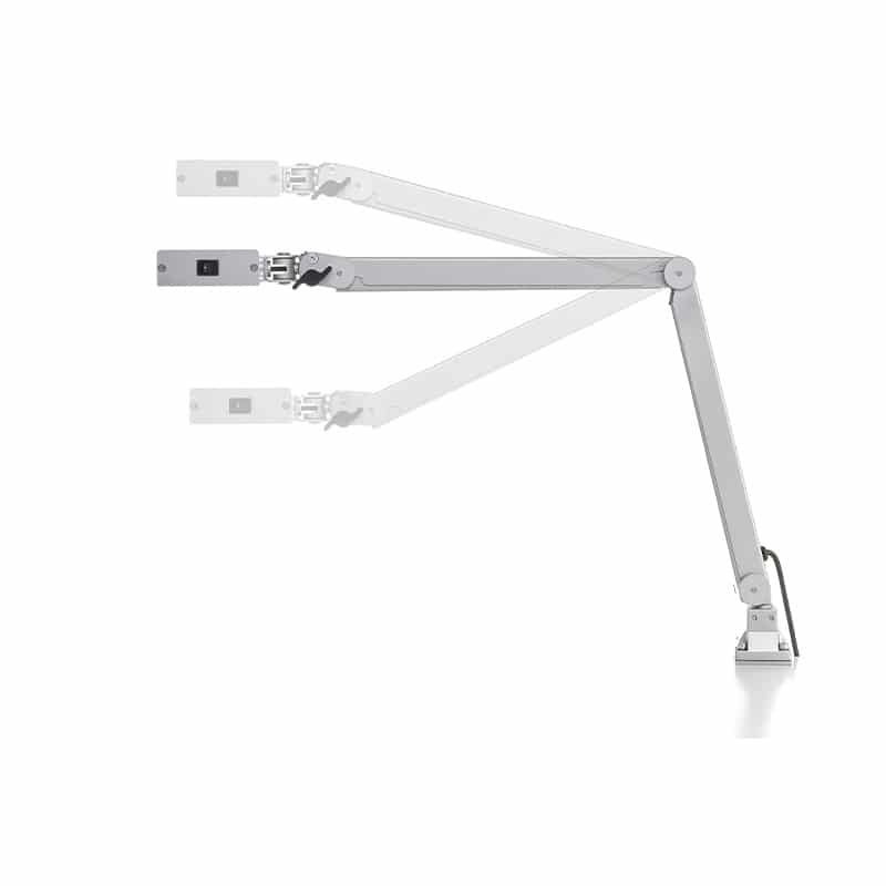 LED Articulated Lamp Premium Line armpositions