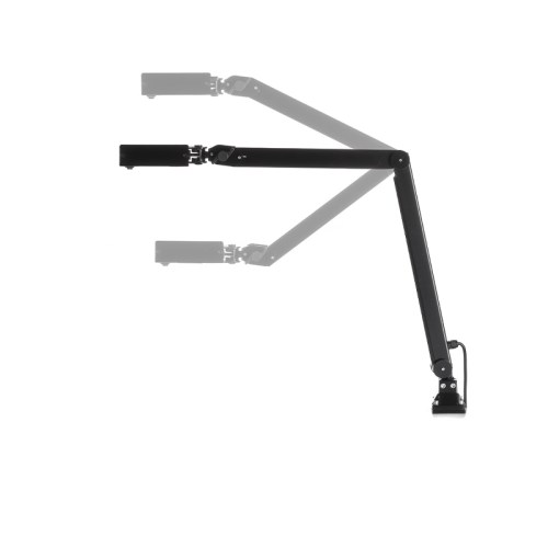 LED Articulated Lamp Black Line Arm rotations