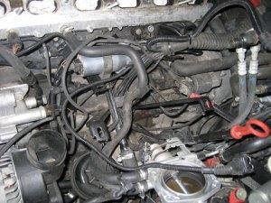 Replacing BMW M52S52 intake manifold with M50 Intake manifold