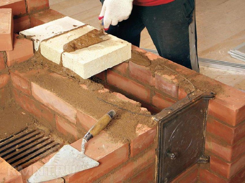 اجاق آجر برای خانه با دستان خود