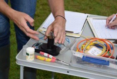 Ringing demonstration (Brian Bishop)