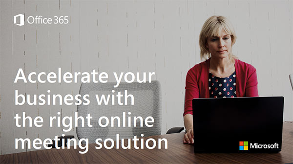 Accelerate your business with the right online meeting solution – Infographic