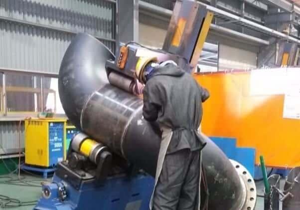 close up man welding