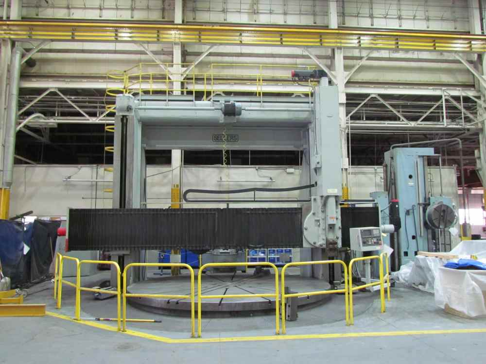 "Skoda) 192"" (16') CNC Vertical Boring Mill"