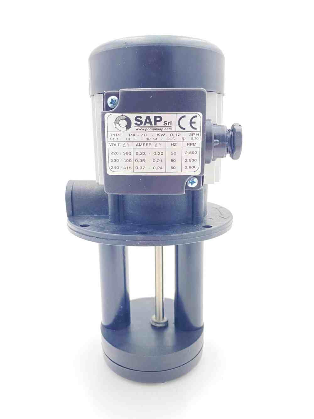 PA-70 SAP Coolant Pump for 3 Phase RMT Bandsaws - RMTPH0001