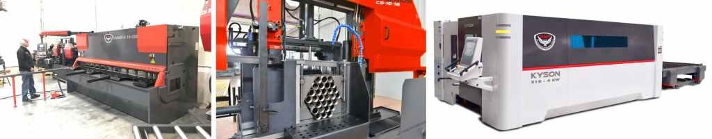 Shear Bandsaw Fiber Laser