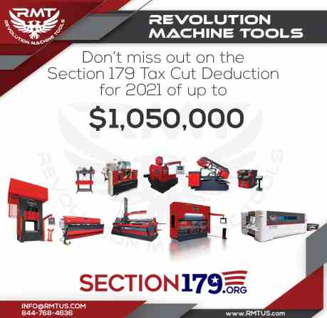 RMT Section 179 Tax Deduction