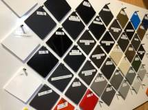 SMF Material and Color Samples