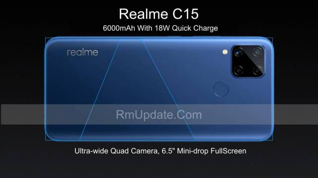 Realme C15 officially launched with 6000mAh battery, Helio G35 SoC