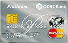 OCBC Platinium MasterCard